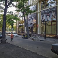 Утро одесских улиц. :: Вахтанг Хантадзе