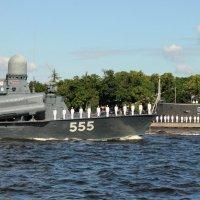 Репетиция парада ко дню Военно-морского флота :: Вера Моисеева