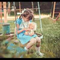 Назад в детство.. :: Lyuda Kr.