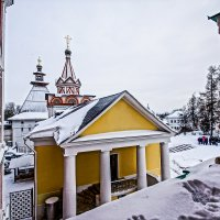 Саввино-Сторожевский монастырь в Звенигороде.. :: Юрий Яньков