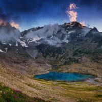 озеро «малая Марка» (2733м) кчр :: Александр Хорошилов