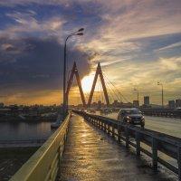Закат,Миллениум,Казань :: Сергей Цветков