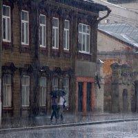 Дождь в старом городе :: Victor Spacewalker