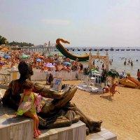 Евпаторский пляж. :: Мила Бовкун