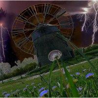 Windmühle_1(Ветреная мельница)-Триптих :: irina Schwarzer