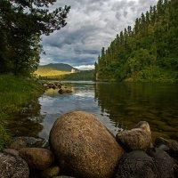 Река Бия (Горный Алтай) :: Алексей