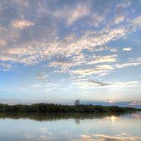 Вечер на реке Нура :: Сергей