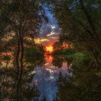 По затопленным берегам :: Валерий Горбунов