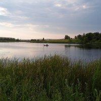 Рыбак и пруд :: Den Ermakov