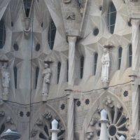 Барселона. Собор Святого Семейства (Саграда Фамилия).Фасад. Фрагмент :: татьяна