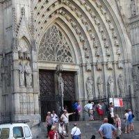 Барселона. Собор Святого Семейства (Саграда Фамилия). Фасад :: татьяна