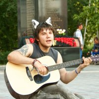 Уличный музыкант :: Дмитрий Сиялов
