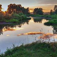 Вечер у реки :: Любовь Потеряхина