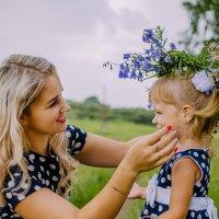 мама и дочь одно целое :: Наталья Батракова