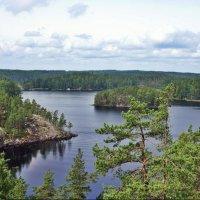 Красивейший вид на озеро Реповеси с горы Катаявуори :: Елена Павлова (Смолова)