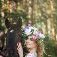 Прогулка с лошадьми :: Ильхам Сибгатуллин
