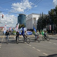 Парад студентов Башкортостана. :: arkadii