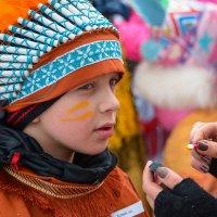 Нанесение боевой раскраски :: Дмитрий Шкредов