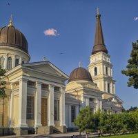 Утро на Соборной площади,- Свято-Преображенский Кафедральный Собор. :: Вахтанг Хантадзе