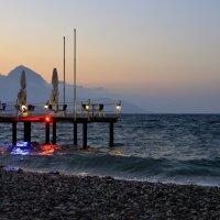 Вечерний пляж в Кемере :: ID@ Cyber.net