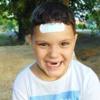 тот самый счастливый момент когда ждешь появления коренных зубов :: Елена Ищенко