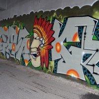 Граффити в подземном переходе :: Ольга