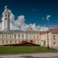 Часозвоня - башня с часами в Новгородском кремле (вариант 1) :: Алексей Кошелев