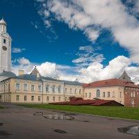 Часозвоня - башня с часами в Новгородском кремле (вариант 3) :: Алексей Кошелев