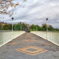 Тещин мост на рассвете. :: Вахтанг Хантадзе