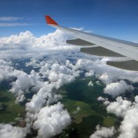 Под крылом самолёта... :: Эля Юрасова