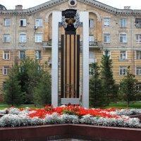 Мемориальная стелла :: Наталья Золотых-Сибирская