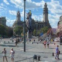Барселона через окно экскурсионного автобуса :: татьяна