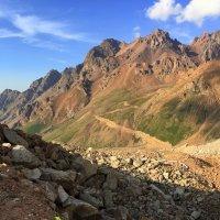 Грозная красота горных пейзажей. :: Anna Gornostayeva