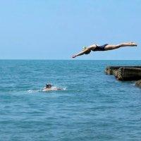 Красивый прыжок :: Татьяна Смоляниченко