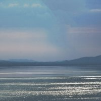 Озеро шира. Пасмурная погода :: юрий Амосов