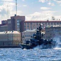 Генеральная репетиция ко дню ВМФ :: Вячеслав Васильевич Болякин