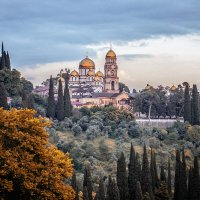 Абхазия.Новоафонский монастырь. :: Александр Рамус
