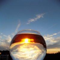 облачно-солнечный коктейль (или пробы на закате)) :: Алена