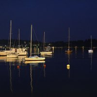 Ночь на воде :: Николай Танаев
