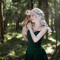 Прекрасная эльфийка :: Irina Voinkova