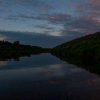 Вечер- река :: Андрей Бердников