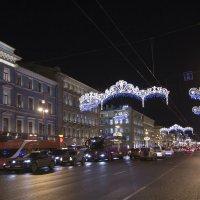Новый год на Невском-2 :: Александр Рябчиков