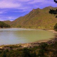 Горное озеро Алтая . :: Мила Бовкун