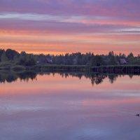 Закат перед красной луной. :: Екатерина Рябинина
