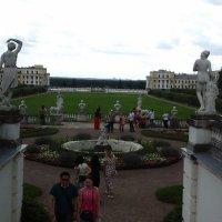 Архангельское. Вид из окна главного дворца :: Дмитрий Никитин