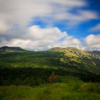 Шерегеш гора Зеленая :: Юрий Лобачев