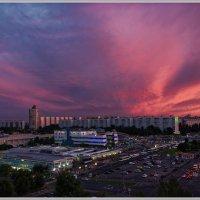 Закат над Москвой :: Владимир Белов