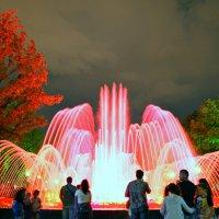 Летний вечер у фонтана :: Петр Заровнев