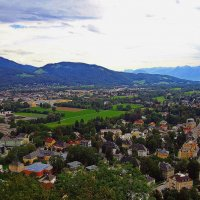 Зальцбург, Альпы... :: Александр Корчемный