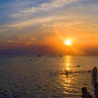 Вечерние купания в августе :: Варвара